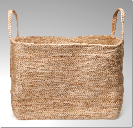 stylish woven basket bathroom towels
