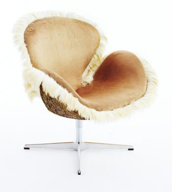 swan chair by david mann