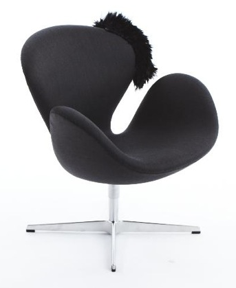 swan chair by jamie drake