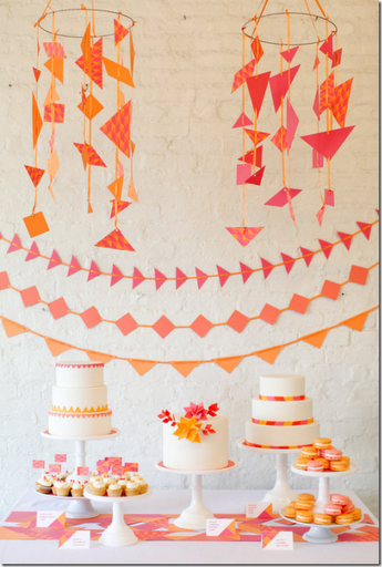 tangerine_birthday_party_decorations
