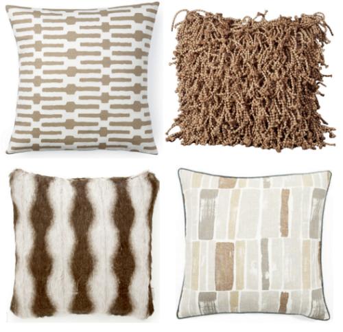 taupe_designer_throw_pillows