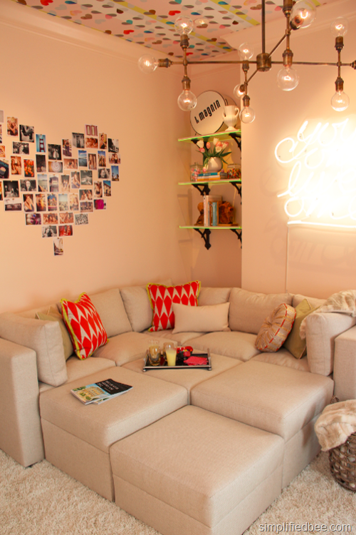 Teen Hangout Room San Francisco Showcase Simplified Bee