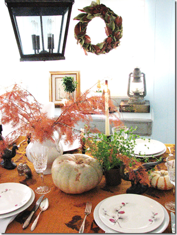 thanksgiving table pure style home