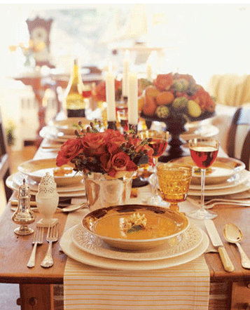 Thanksgiving Table Decorating Ideas With Or Without Kids