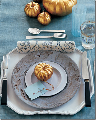 Thanksgiving table decorating ideas with or without kids for Elegant table setting for thanksgiving
