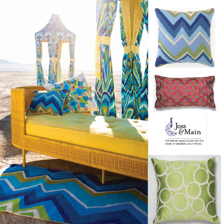 11 Cool Online Stores For Home Decor And High Design: Trina Turk Residential Sale & Joss & Main Invitation
