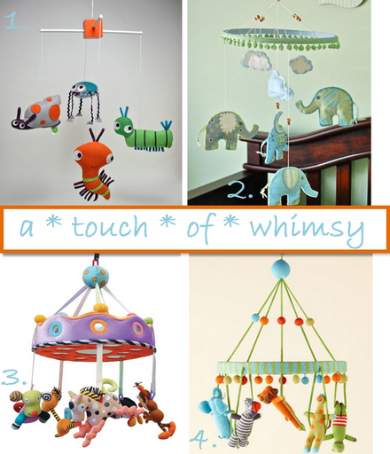 unique crib mobiles baby cute