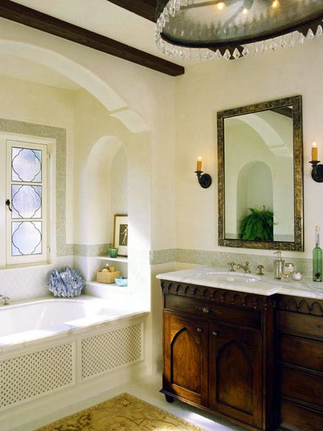 Vanity Sink W Moroccan Detail1