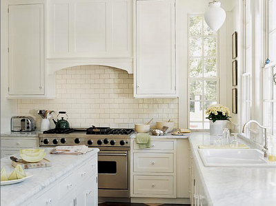Simple White Kitchen clean and simple - white kitchens - simplified bee