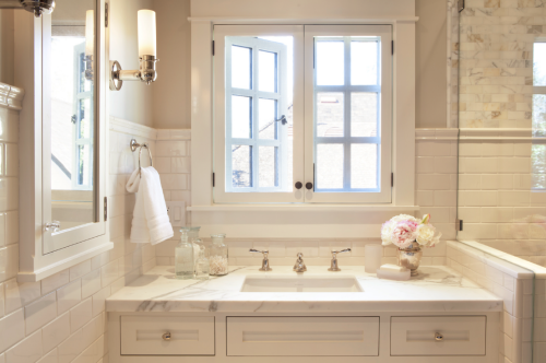 white-designer-bathroom-sink-window