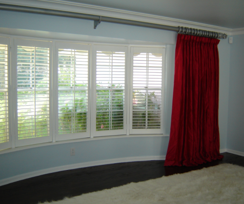 5 Panel Window : Window treatment ideas for bay windows simplified bee