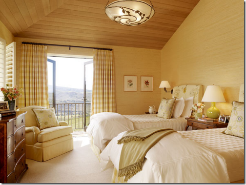 yellow designer bedroom suzanne tucker