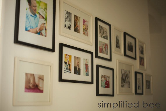 Family_Photo_Gallery_Wall_Mixed_Frames