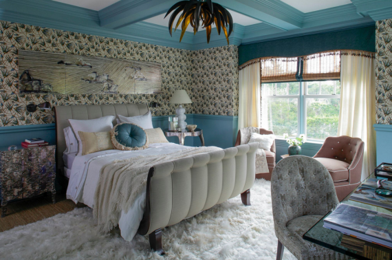 Katie Leede Hamptons Showhouse Bedroom