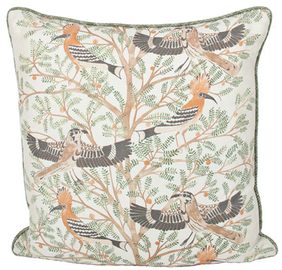 Katie Leede Designer Pillow Isis Persimmon