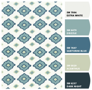 Chip it sherwin williams app simplified bee for Santorini blue paint