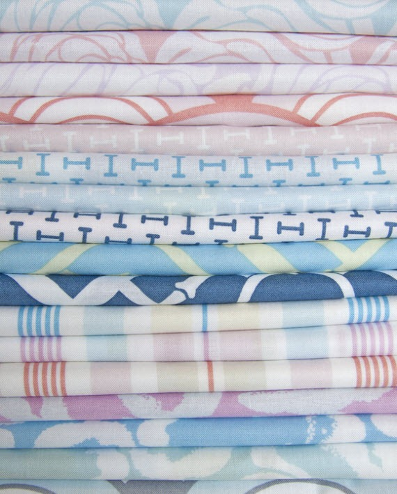 Little House fabrics sold by the yard / Annette Tatum