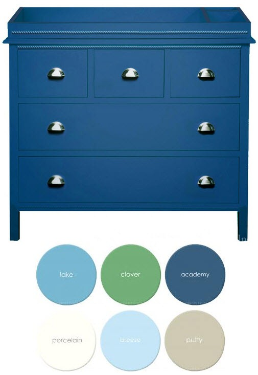Classic changing table dresser - made in the USA