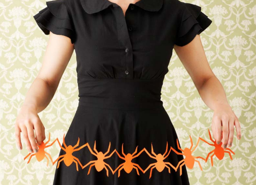 Along came a spider halloween decorating ideas - Decoration halloween a fabriquer ...