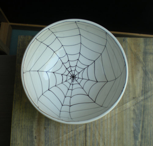 Spider Web Bowl Halloween