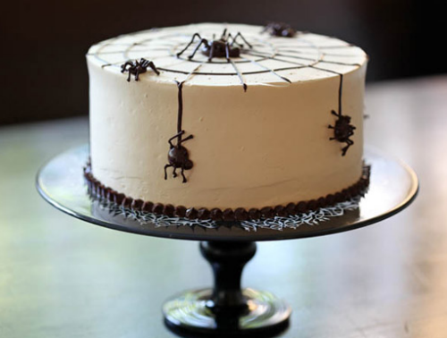 Halloween Decorations Spider Web Make Spider Web Cake For Halloween