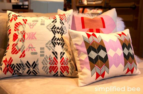 Throw Pillows by Alison Fox for West Elm