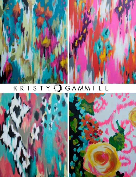 Kristy Ganmill Art Absrtacts