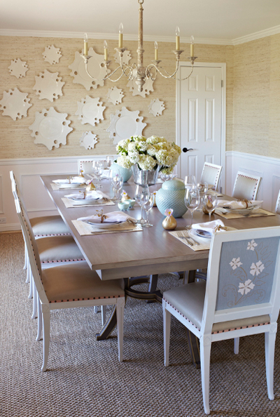 Napa Valley Dining Room Arrowroot Wallcovering