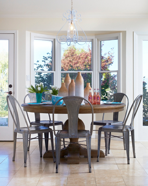 Napa Valley Home Breakfast Table