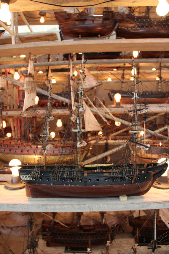 Model Tall Ships at the SF Fall Antiques Show