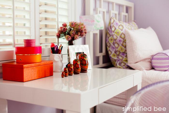 Simplified Bee Parsons Desk Girls Bedroom