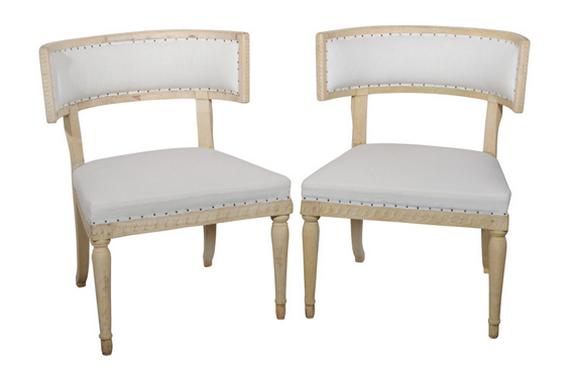 Swedish Gustavian Klismos Chairs