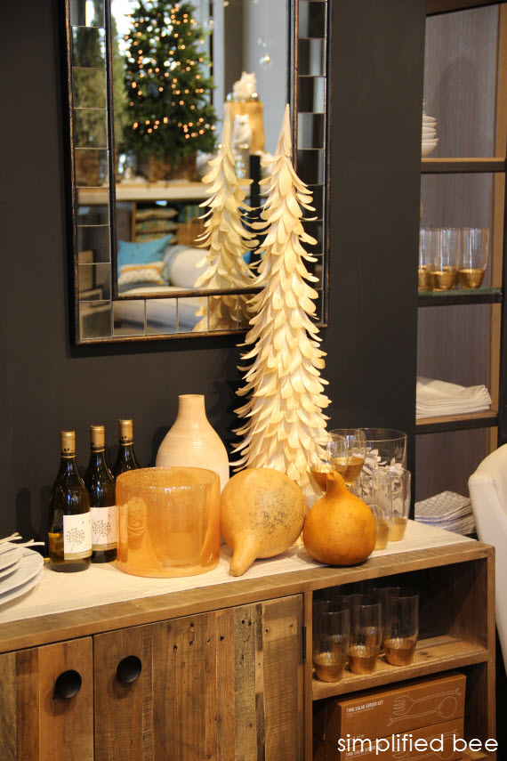 West Elm Holiday Vignette