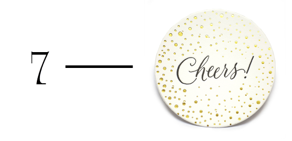 cheers drink coasters hostess gift