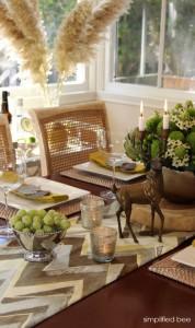 wayfair thaksgiving tabletop simplified bee