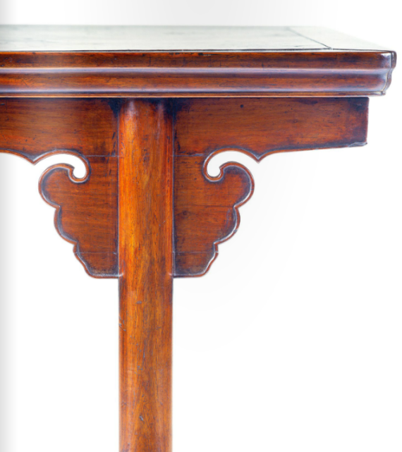 Antique Chinese Furniture - Table Detail