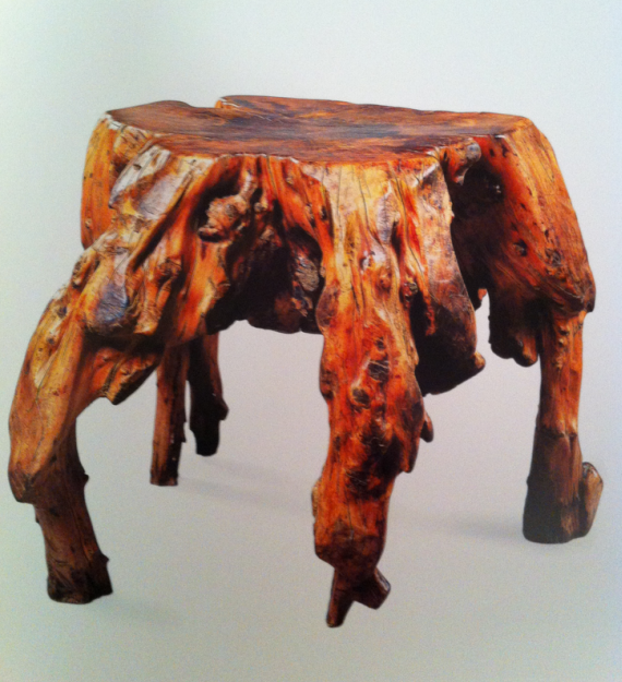 Chinese Root Stool Ming Style
