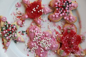 Holiday Sugar Cookies by the Kids