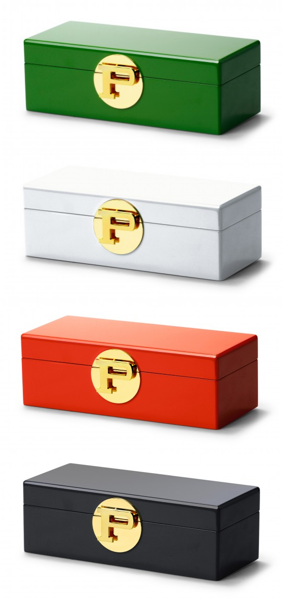 monogram lacquer jewelry boxes