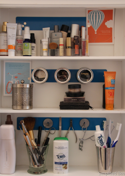 organized medicine cabinet