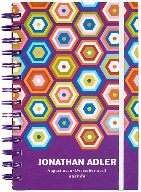 honeycomb pattern daily planner 2013