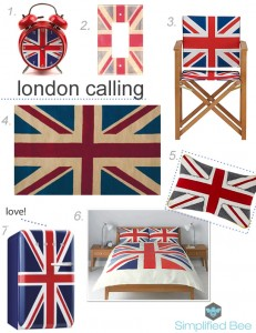 Union Jack decor for home