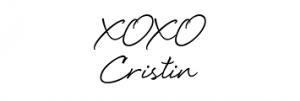 xoxo Cristin