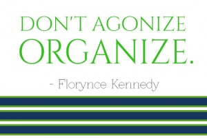 don&#039;t agonize, organize