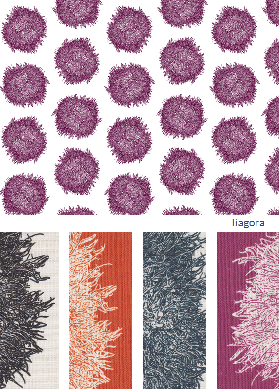 nettle + fin designer fabric collection