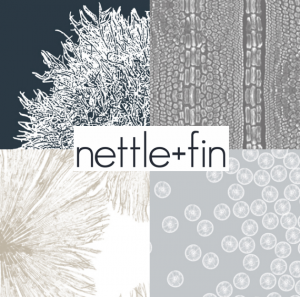 nettle + fin designer fabrics