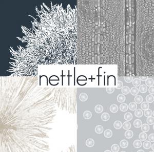 nettle + fin designer fabrics