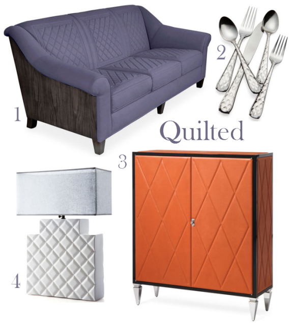quilted trend in home decorating