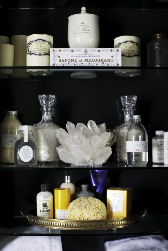chic bathroom medicine cabinet