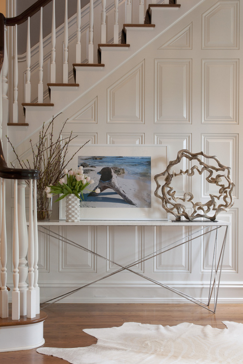 Elegant Foyer Name : Elegant entry console table simplified bee
